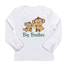 Big Brother Monkeys Long Sleeve Infant T-Shirt
