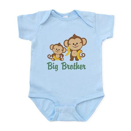 Big Brother Monkeys Infant Bodysuit