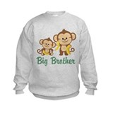 Big brother monkey Crew Neck