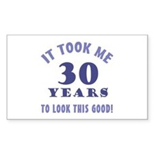 Hilarious 30th Birthday Gag Gifts Decal
