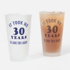 Hilarious 30th Birthday Gag Gifts Drinking Glass