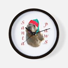 Santa Paws Otterhound Wall Clock