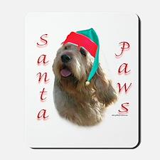 Santa Paws Otterhound Mousepad