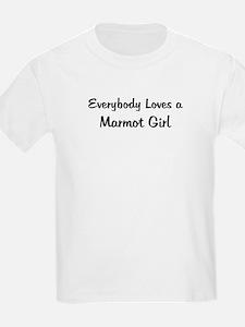Marmot Girl Kids T-Shirt