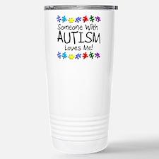Unique Autism awareness Travel Mug