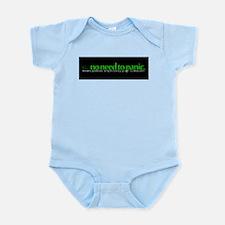 na|no need to panic Infant Bodysuit