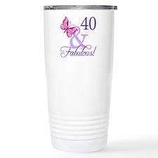 40 And Fabulous Travel Mug