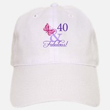 40 And Fabulous Baseball Baseball Cap