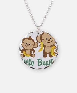 Little Brother To Be Monkey Necklace