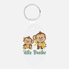 Little Brother To Be Monkey Keychains