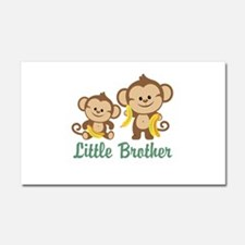 Little Brother To Be Monkey Car Magnet 20 x 12