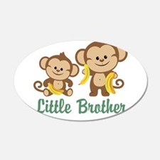 Little Brother To Be Monkey Wall Decal
