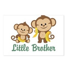 Little Brother To Be Monkey Postcards (Package of