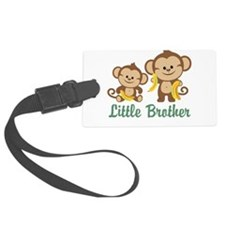 Little Brother To Be Monkey Luggage Tag