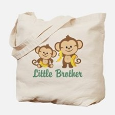 Little Brother To Be Monkey Tote Bag