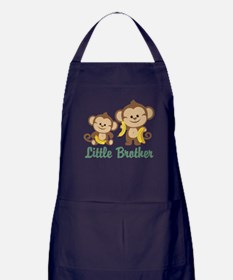 Little Brother To Be Monkey Apron (dark)