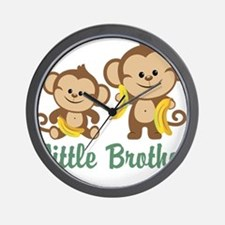 Little Brother To Be Monkey Wall Clock