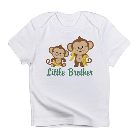 Little Brother To Be Monkey Infant T-Shirt