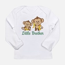 Little Brother To Be Monkey Long Sleeve Infant T-S