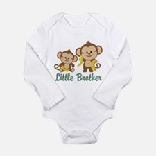 Little Brother To Be Monkey Long Sleeve Infant Bod