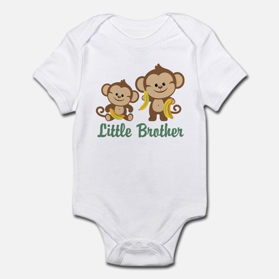 Little Brother To Be Monkey Infant Bodysuit