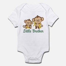 Little Brother To Be Monkey Onesie