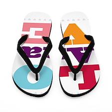 I Love Ana Flip Flops