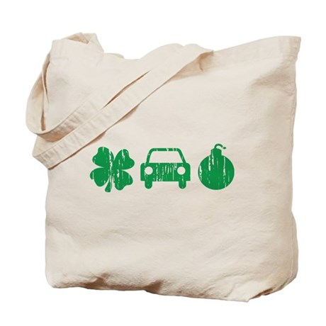 Irish Car Bomb, St Paddy's Day Tote Bag