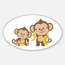 Little Monkeys Decal