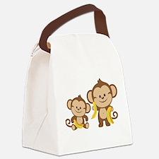 Little Monkeys Canvas Lunch Bag