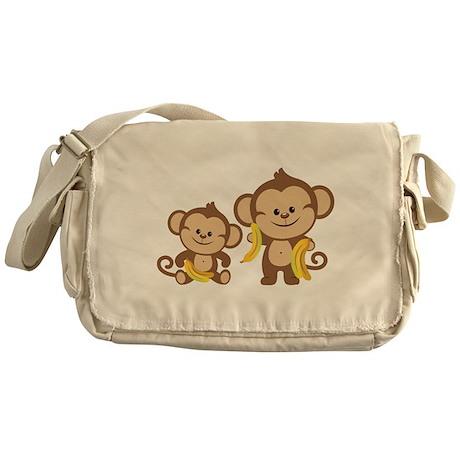 Little Monkeys Messenger Bag