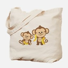 Little Monkeys Tote Bag
