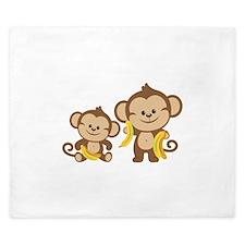 Little Monkeys King Duvet