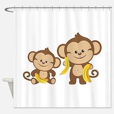 Little Monkeys Shower Curtain