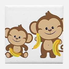 Little Monkeys Tile Coaster