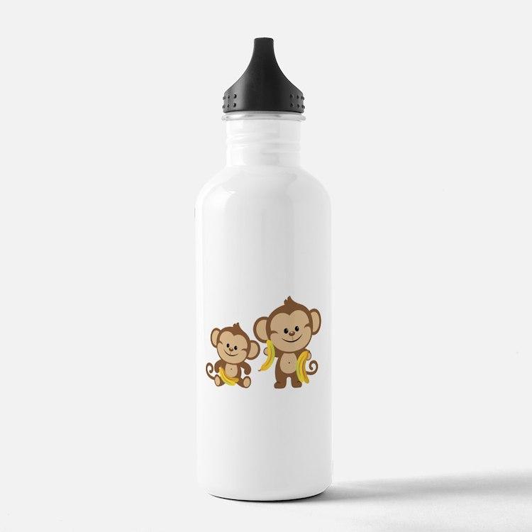 Little Monkeys Water Bottle