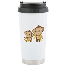 Little Monkeys Travel Coffee Mug
