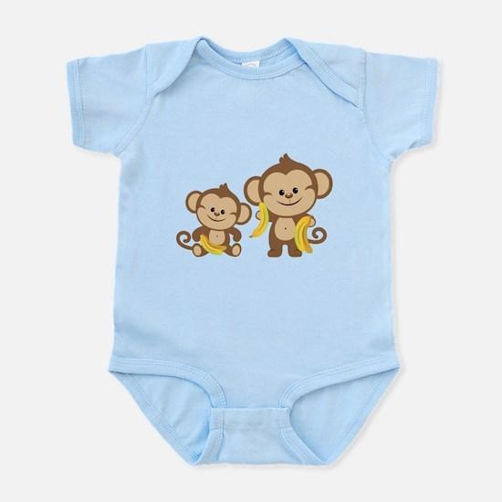 Little Monkeys Infant Bodysuit