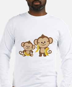 Little Monkeys Long Sleeve T-Shirt