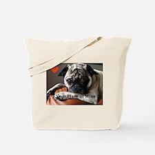 Sweet Roxy the Pug Tote Bag