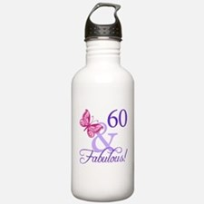 60 And Fabulous Water Bottle