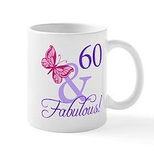 60 And Fabulous Small Mug