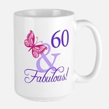 60 And Fabulous Mug