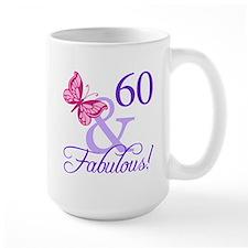 60 And Fabulous Mug