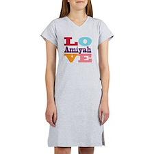 I Love Amiyah Women's Nightshirt