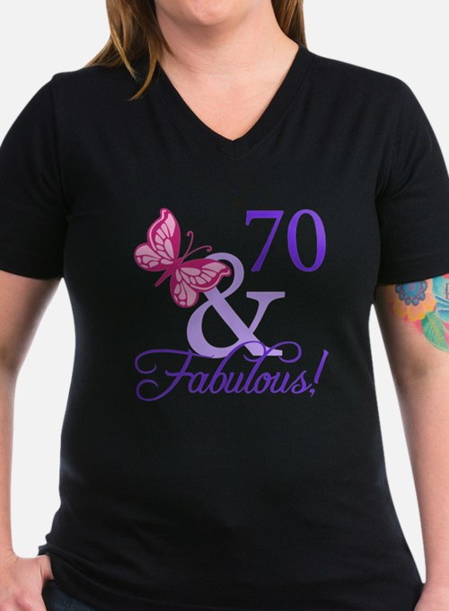 70 And Fabulous Shirt