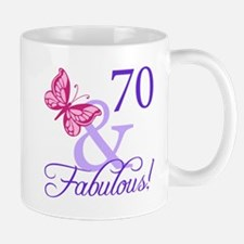 70 And Fabulous Mug