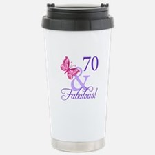 70 And Fabulous Stainless Steel Travel Mug