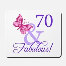 70 And Fabulous Mousepad