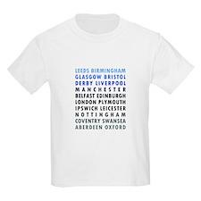 British Cities - Blue T-Shirt